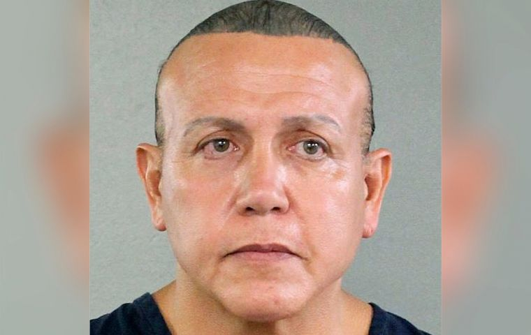Attorney General Jeff Sessions said Cesar Sayoc, 56, of Aventura, Florida, is being charged with five federal crimes, including the illegal mailing of explosive devices