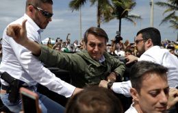 A confident Bolsonaro had started as a big favorite in the polls