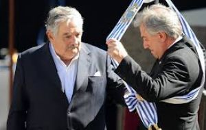 Uruguay is trapped between a respectful abiding president Tabaré Vazquez and the radicals led by ex president Mujica who are the largest force in the coalition