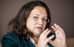 "There are growing calls in the SPD to abandon the coalition. The party's leader Andrea Nahles is to present an ""action plan"" on Monday addressing concerns."