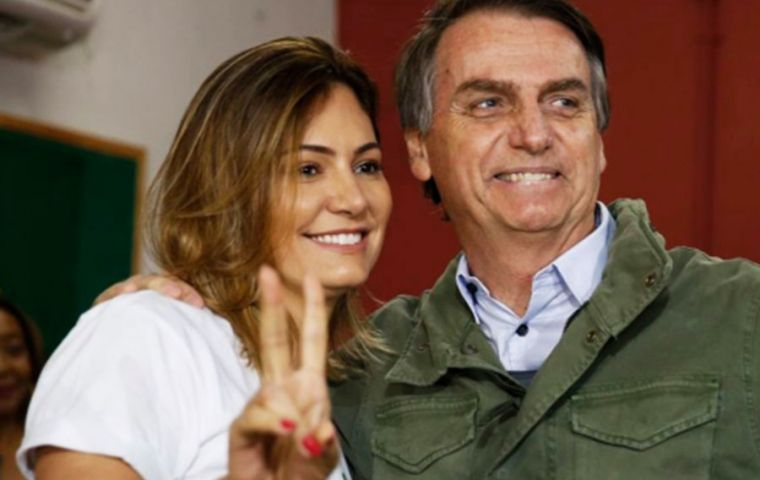 "At precisely 19:18 on Sunday Bolsonaro was declared ""mathematically"" president elect of Brazil"
