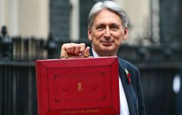"In a 70 minutes speech Mr Hammond said ""we have reached a defining moment on this long, hard journey"" after repairing the damage to the public finances"
