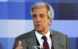 Uruguayan president Tabare Vazquez anticipated the message during the weekly cabinet meeting