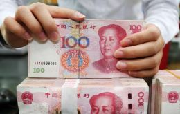 Yuan drifted past 6.96 to the dollar, its weakest since May 2008. Breaking 7 could further undermine market confidence and potentially trigger fresh US accusations