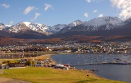 Ushuaia, capital of the Argentine province of Tierra del Fuego