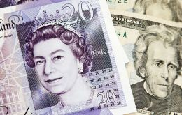 The British pound jumped as much as 0.6% against the dollar following the tentative deal report