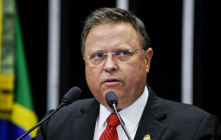 Agriculture Minister Blairo Maggi said the move would cause losses to Brazil's farm trade as EU countries, have pushed Brazil to protect the environment