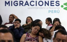 The official underlined that there are over 500,000 Venezuelans presently living in Peru.