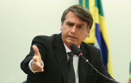"""We had an idea to combine the ministries but it seems both will remain separate, with one person focusing on environment protection,"" Bolsonaro said"