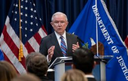 """Chinese economic espionage against the United States has been increasing,"" Attorney General Jeff Sessions said. ""And it has been increasing rapidly."""
