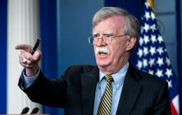 "John Bolton condemned what he called the ""destructive forces of oppression, socialism and totalitarianism"" that Cuba, Venezuela and Nicaragua represent"
