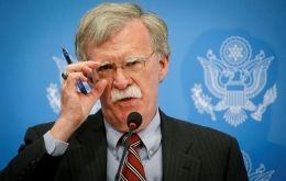 Bolton's announcement came just an hour after 189 countries of the UN called in a resolution for an end to the U.S. economic embargo on Cuba