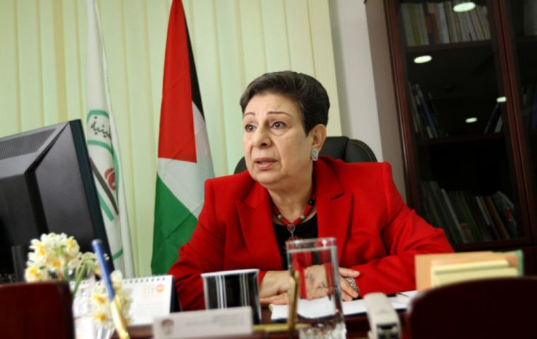 """These are provocative and illegal steps that will only destabilize security and stability in the region,"" said Hanan Ashrawi, member of the PLO Executive"