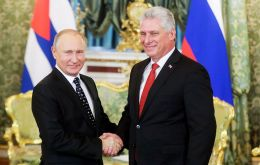 Putin and Diaz-Canel agreed in Moscow to strengthen Russia's military assistance to Cuba.