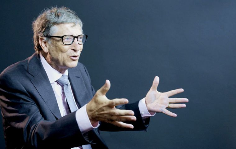 Bill Gates views taxes as a tool to guide employers towards hiring humans, not robots.
