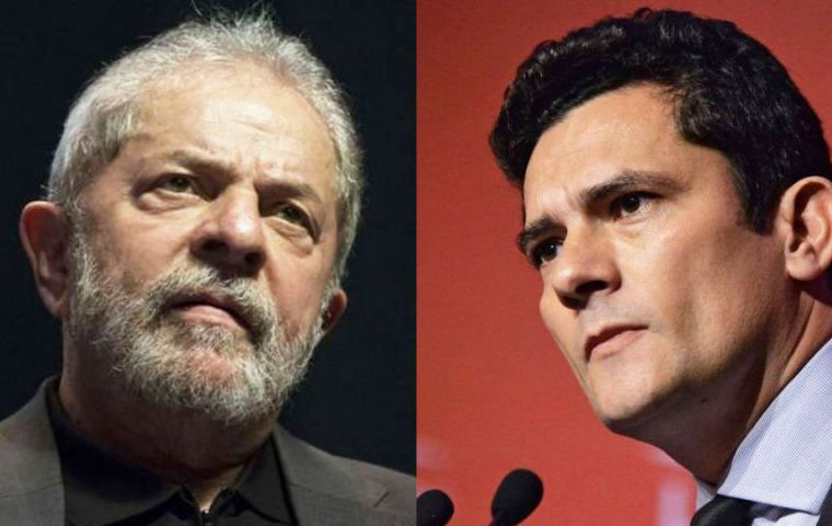 Lula's plea came days after president-elect Bolsonaro announced Judge Sergio Moro as Brazil's next justice minister.