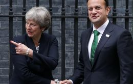 In a phone conversation with the Taoiseach, Mrs. May said that any agreement would have to include a mechanism to bring an end to the backstop
