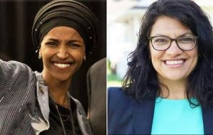Democrats Ilhan OImar and Rashida Tlaib made history in Minnesota and Michigan respectively as the first Muslim women elected to Congress