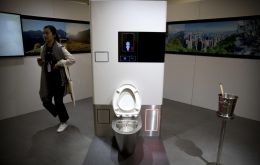 The toilet, which Gates said was ready for sale after years of development, is the brainchild of research projects funded by the Bill and Melinda Gates Foundation