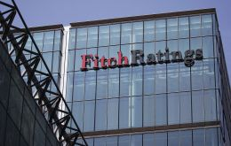 The Fitch release on Wednesday anticipates a 2.7% contraction this year and a further 1.7% in 2019