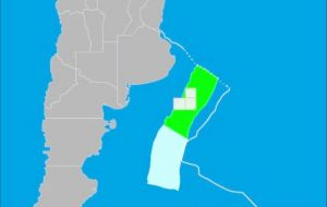 The areas in the bidding round include: 14 blocks in Argentina's deep-Atlantic region, 6 blocks in the Austral region, and 18 blocks in the Malvinas region