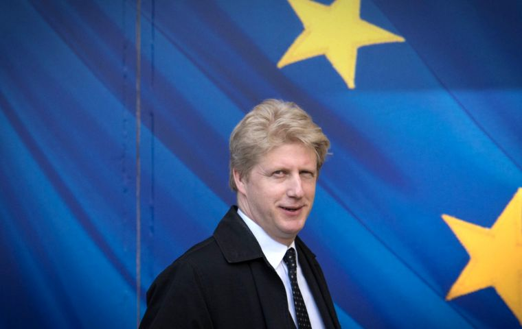 Jo Johnson voted to remain in the EU in the 2016 referendum while his brother Boris, who quit as foreign secretary in July, was a leading Brexiteer