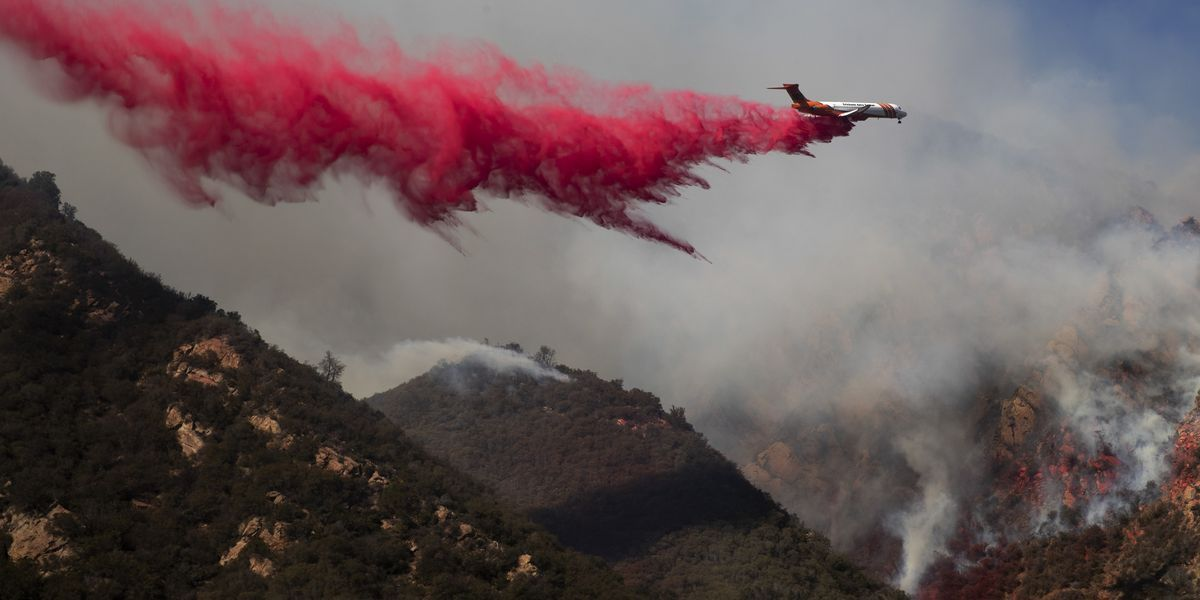 These are the astonishing numbers behind the California wildfire