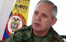 General Mejía is aware of a plan for FARC guerrillas to resume armed fighting.