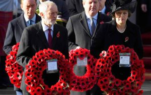 The Prime Minister also attended the service along with other members of the Cabinet, former Prime Ministers and 765 Armed Forces personnel