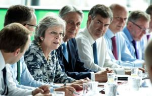 Mrs. May will address her cabinet on Tuesday, with some ministers believed to want a change of plan