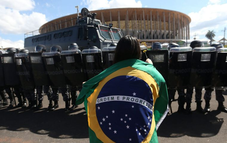 """We express a profound concern over the current state of human rights in Brazil, and their future,"" the IACHR team said in a statement"