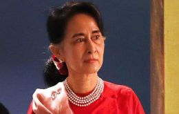 Aung San Suu Kyi has fallen from grace in human rights protection circles.