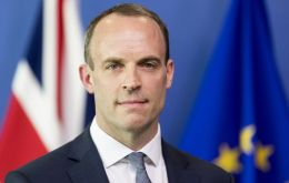 Raab was closely involved in drafting the agreement, which sets out the terms of Britain's departure from the EU