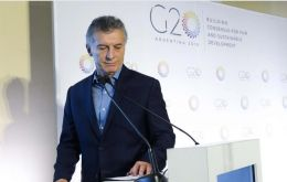 For Macri the Senate vote means he can comfortably host G20 leaders' summit and comply with the confidence deposited on him by US, China and the EU