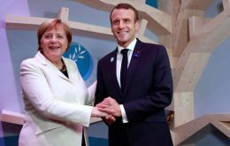 Macron and German Chancellor Merkel have used a series of war anniversaries to project unity as they push back against populist and nationalist forces