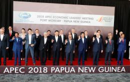 It was the first time leaders had failed to agree on a declaration in 29 years of the Pacific Rim summits that involve countries representing 60% of the world economy