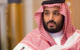 Saudi media outlets quoted Saudi Energy Minister Khalid Al-Falih as saying that the crown prince's stop in Argentina will be part of a foreign tour