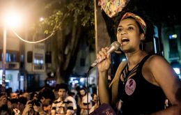 Marielle Franco was shot dead on March 14.