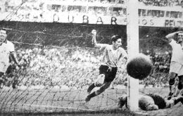 The jersey can trace its origins to 1950, when Uruguay beat Brazil in the World Cup, which was hosted by Brazil