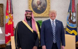 President Trump earlier defended US ties with Saudi Arabia despite international condemnation over the incident