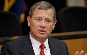 "Chief Justice Roberts said ""We do not have Obama judges or Trump judges, Bush judges or Clinton judges"""