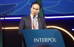 """Our world is now facing unprecedented changes which present huge challenges to public security and safety,"" Mr Kim told Interpol's general assembly"