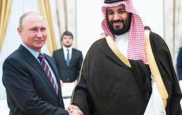 "Putin and Mohammed bin Salman Al Saud will attend the summit, ""so they will have an opportunity to talk,"" said Peskov."