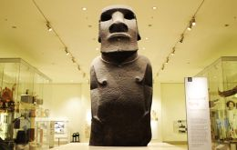 "The ""Hoa Hakananai'a"" measures about eight feet in height and weighs an astonishing four tonnes."