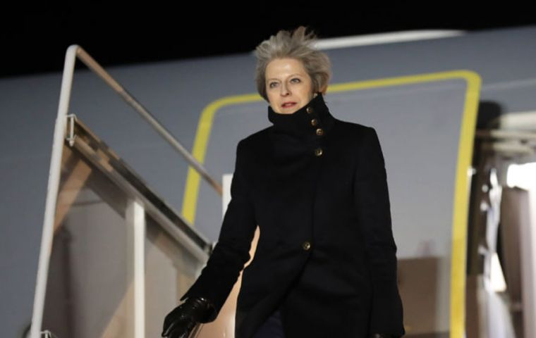 Theresa May is expected in Buenos Aires next Friday 30 November to participate in the G20 leaders' summit