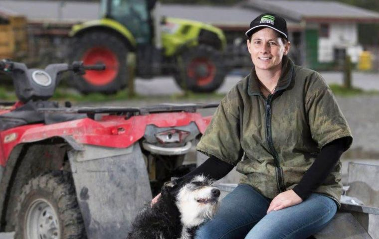 Federated Farmers of NZ president Katie Milne is engaged in a busy schedule of speaking and meeting engagements in Montevideo and Buenos Aires