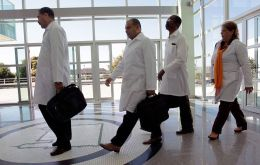 The first of thousands of Cuban doctors left Brazil this week after criticism by president elect Bolsonaro prompted Havana to sever a cooperation agreement