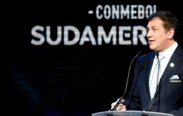 A meeting of CONMEBOL officials will be held in Asunción, Paraguay, on Tuesday morning to decide what happens next, Alejandro Dominguez said
