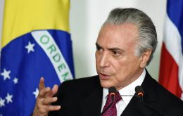 The bill signed by Temer serves as a benchmark for other public sector pay and the hike will add an estimated US$ 1 billion) to the government's deficit