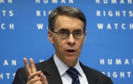 HRW's Kenneth Roth signed the petition for the prince to be tried in Argentina for human rights violations.